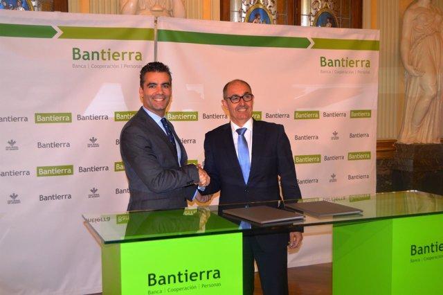Bantierra e Iberaval impulsan el acceso a la financiación a pymes y autónomos