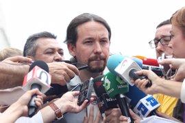 """Pablo Iglesias se distancia de la consulta de Puigdemont: """"No es un referéndum aceptable"""""""