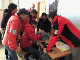 Se retoma el operativo de búsqueda por tierra y aire de los senderistas suizos