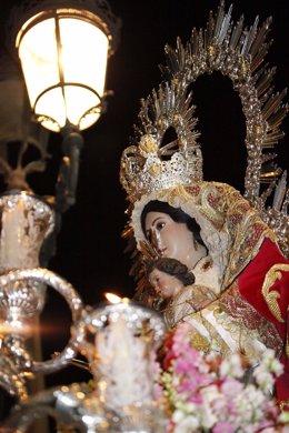 La Virgen del Rosario, Patrona de Cartaya.