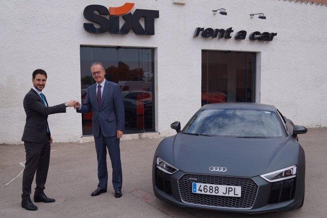 Audi R8 Coupé para la gama de Sixt