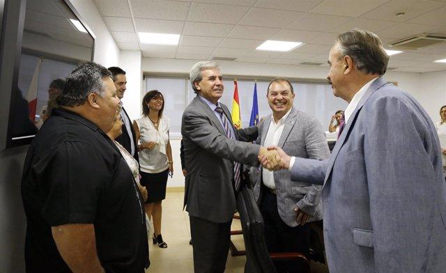 10:00Sala De Usos Múltiples, Gobierno De CantabriaEl Consejero De Presidencia