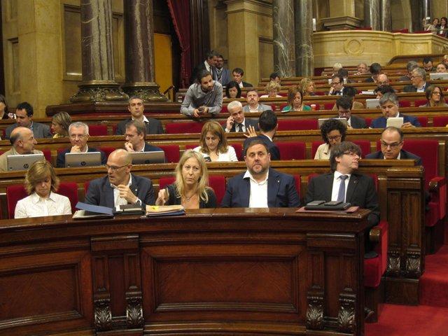 Jxsí En El Pleno Del Parlament