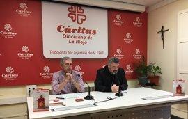 Cáritas Rioja atendió el año pasado a más de 4.100 personas y destinó 400.000 euros a ayudas directas