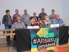 """Familiares de los detenidos por la agresión en Alsasua piden """"amparo"""" a las instituciones"""