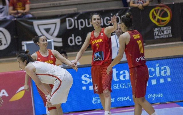 Silvia Domínguez, Alba Torrens, Marta Xargay