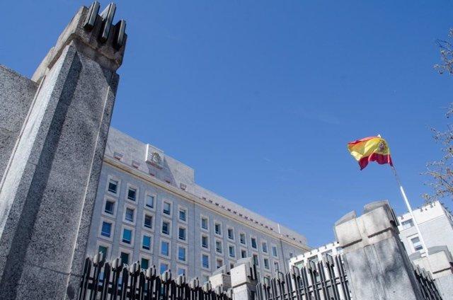 Ministerio de defensa, banderas, bandera de España