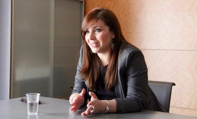 La portavoz de Cs en las Corts, Mari Carmen Sánchez, en imagen de archivo