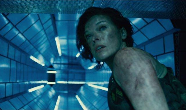 Milla Jovovich en Resident Evil