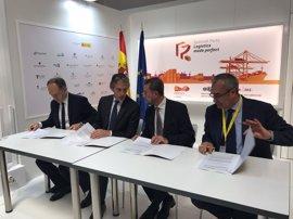 El Puerto de Sevilla, Adif y Puertos del Estado concretan la ejecución del acceso directo ferroviario
