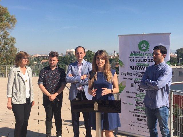 Presentación del Festival Animal Sound de Murcia