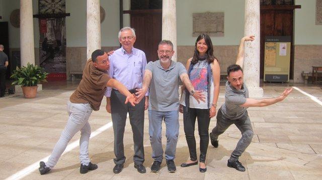 Maynor, Ariño, García, Monrós y Cienfuegos.