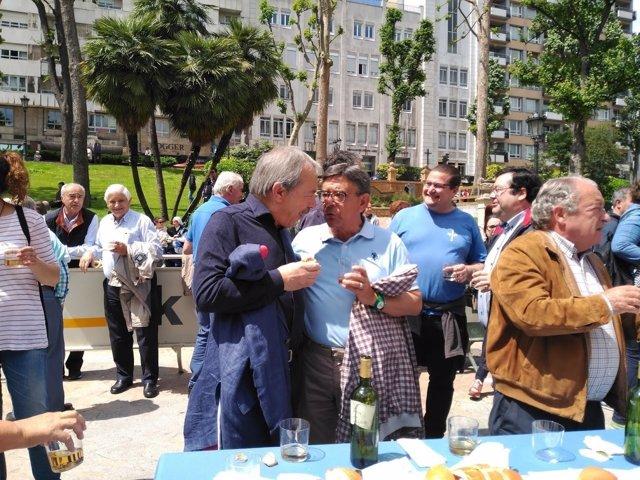 Wenceslao López y Roberto Sánchez Ramos en La Balesquida.