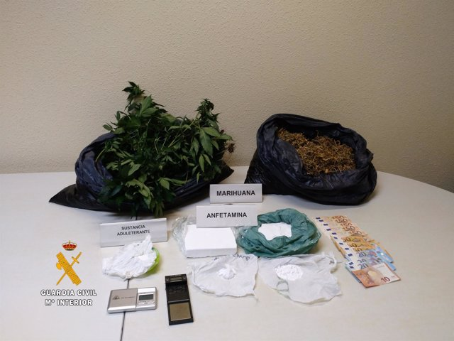 Salamanca: droga incautada