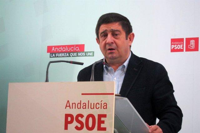 El secretario general del PSOE de Jaén, Francisco Reyes (Archivo)