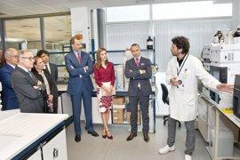 Los Reyes visitan el CNTA de San Adrián para conmemorar el 25º aniversario del centro tecnológico