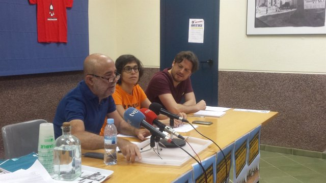 Joan Balañach, Irene Sabaté y Enric Bárcena