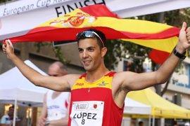 Miguel Ángel López encabeza las opciones de la marcha española en el Mundial de Londres