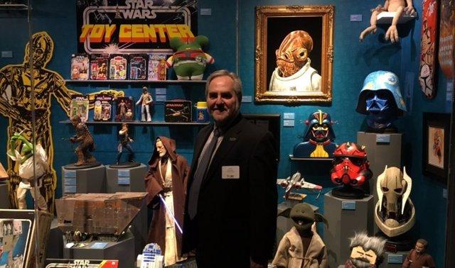Steve Sansweet coleccionista de Star Wars