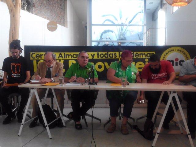 Movimiento Ibérico Antinuclear pide el cierre de nucleares