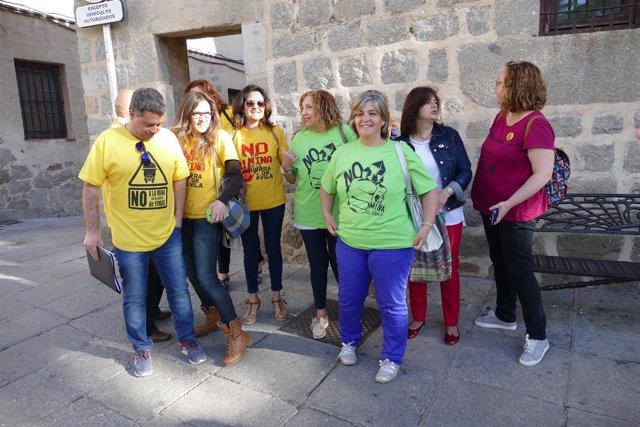 Ávila: Miembros De Las Plataformas