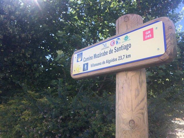 Camino mozárabe santiago Málaga señalización sendero GR 245