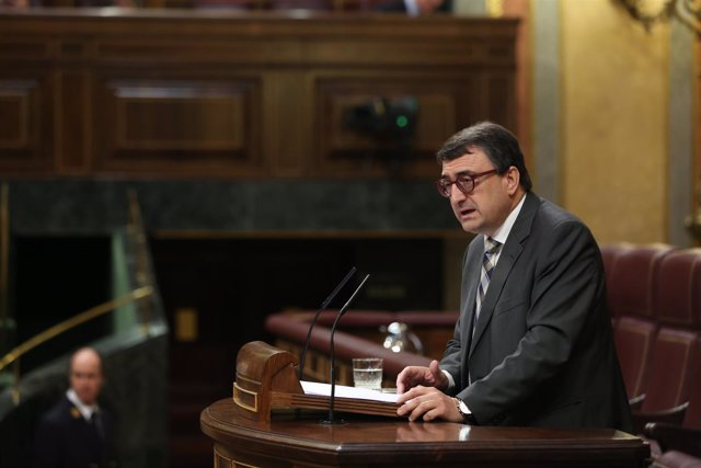 Aitor Esteban en el debate sobre Presupuestos en el Congreso