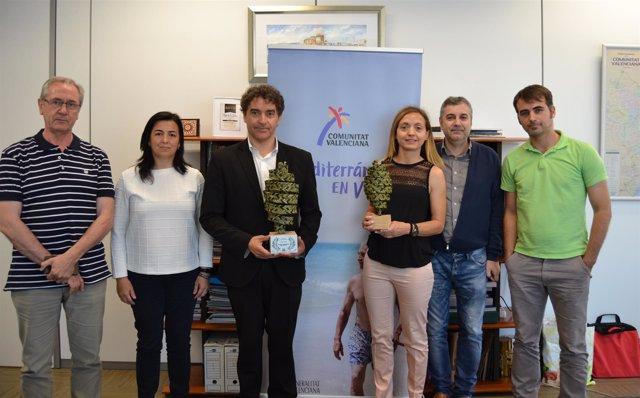La comunicación turística de AVT, premiada en el 'Terres Catalunya'