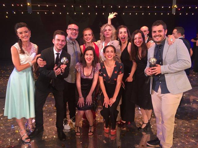 Maduixa Teatre Guanya El Doblet Als Premis Max 2017 Por Mulïer