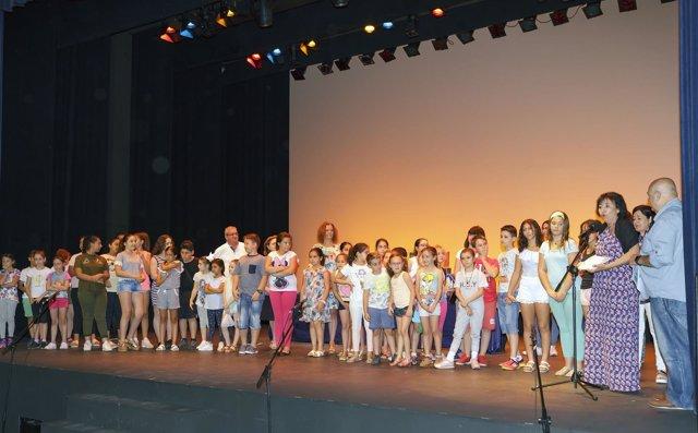 Teatro escolar en Sevilla