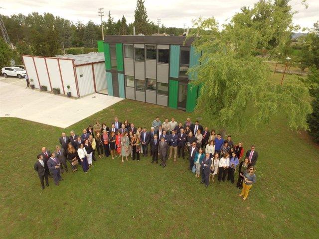 Inauguración del laboratorio radiológico en Las Merindades