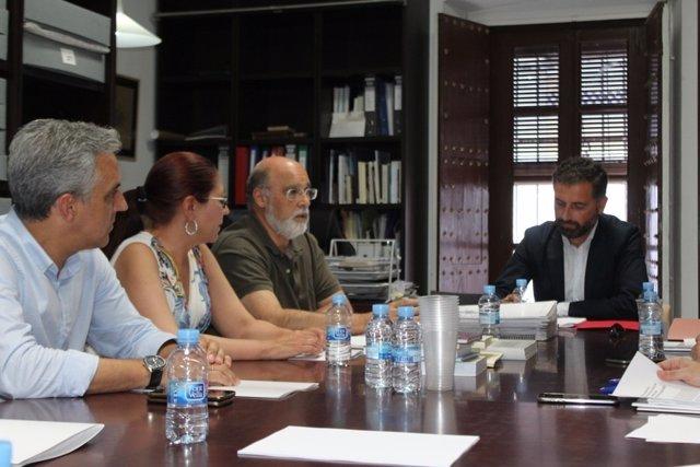Reunión de la Fundación Zenobia-Juan Ramón Jiménez.