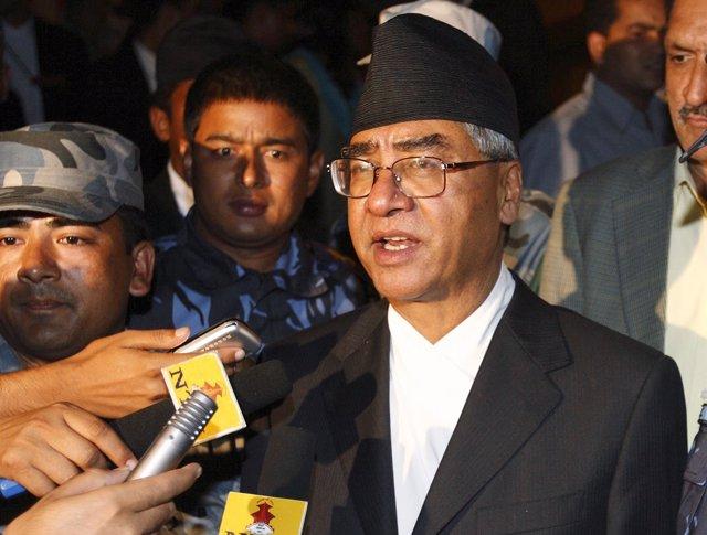 Sher Bahadur Deuba, nuevo primer ministro de Nepal