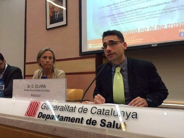 El director del CatSalut, David Elvira