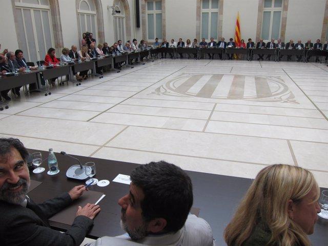 Entidades soberanistas en el Pacte pel Referèndum