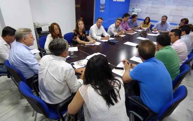Reunión del Comité de Dirección del PP cordobés