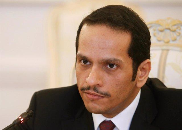 El ministro de Exteriores de Qatar