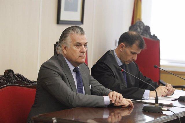 Luis Bárcenas en el juicio para su posible reingreso en el PP