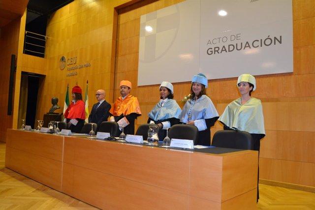 Acto de graduación de una nueva promoción de Educación Infantil en CEU Andalucía