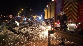 Un hombre de 33 años fallece en un accidente de tráfico en la M-45 en San Fernando de Henares