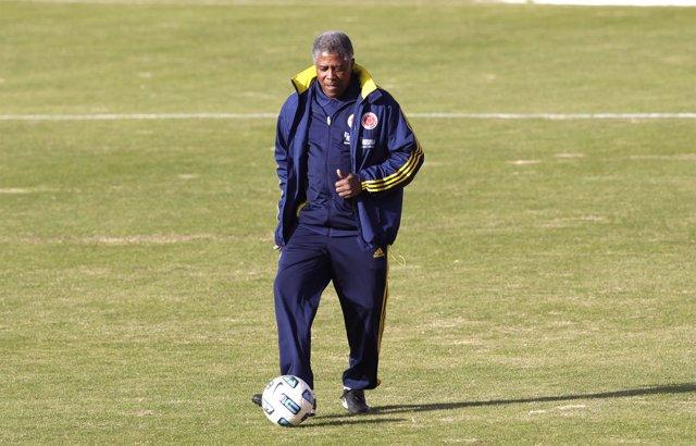 El entrenador colombiano Francisco 'Pacho' Maturana