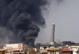 Irak asegura que Estado Islámico controla menos de cuatro kilómetros cuadrados de Mosul