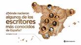 Foto: ¿Dónde nacieron algunos de los escritores más conocidos de España?