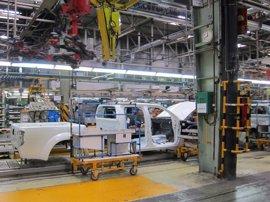 La producción industrial cae un 0,9% en Asturias en abril