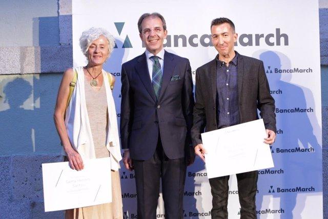 Entrega de premios fotografía Banca March