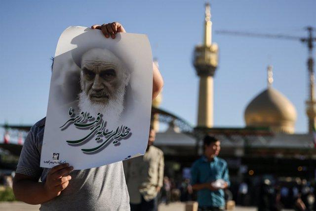 Mausoleo de Jomeini en Teherán