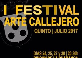 Quinto busca espectáculos para su I Festival de Arte Callejero que se celebra a finales de julio