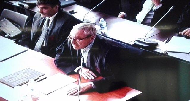 L abogado de D.Osàcar, Xavier Melero, en el juicio del caso Palau