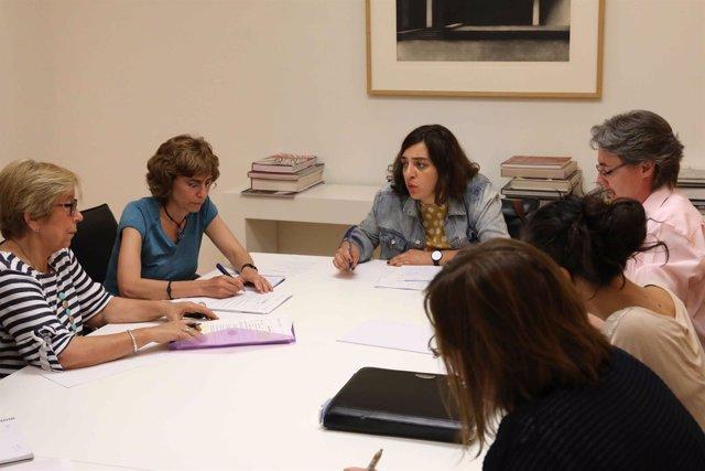 Comité machista en el Ayuntamiento de Madrid con Celia Mayer