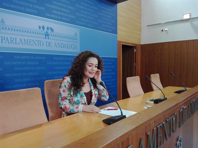 Inmaculada Nieto, parlamentaria andaluza de IU